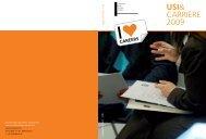 USI& CARRIERE 2009 - USI - Career Service - Università della ...