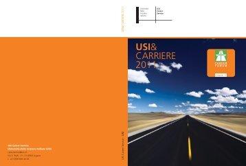USI& CARRIERE 2011 - USI - Career Service - Università della ...