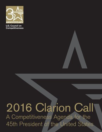 2016 Clarion Call