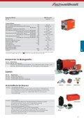 Inverter Elektroden- Schweißgeräte PRO-STICK - Seite 7