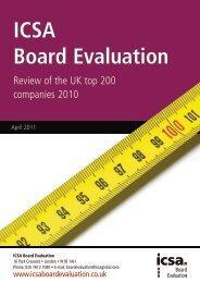 ICSA Board Evaluation