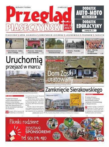 Przegląd Piaseczyński, Wydanie 141