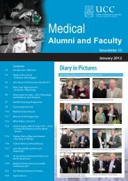 Medical Alumni Newsletter 2012 - University College Cork