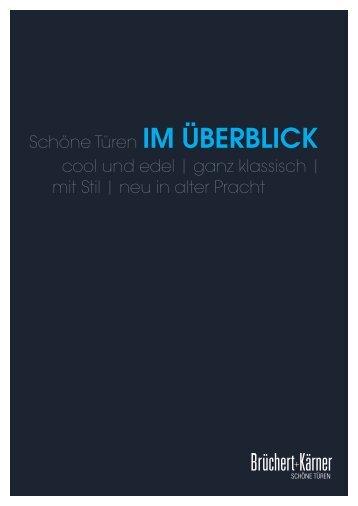 Brüchert&Kärner IM ÜBERBLICK