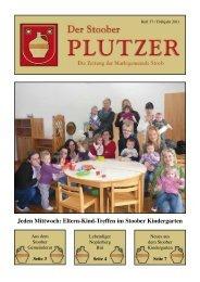Jeden Mittwoch: Eltern-Kind-Treffen im Stoober Kindergarten