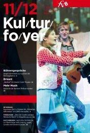 Bühnengespräche Brisant Mehr Musik - Freie Volksbühne Berlin