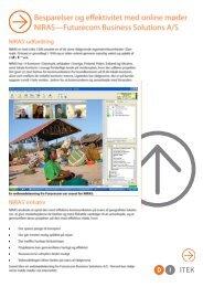 Besparelser og effektivitet med online møder NIRAS ... - DI ITEK