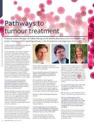 Pathways to tumour treatment - Abteilung Hämatologie und Onkologie