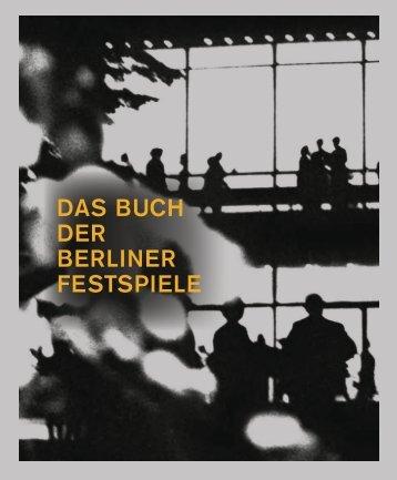 Leseprobe: Das Buch der Berliner Festspiele