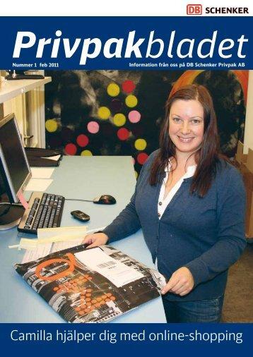 Camilla hjälper dig med online-shopping - Schenker Privpak