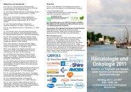 Aktuelles Programm als pdf - Hämatologie und Onkologie Rostock