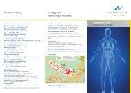 Patientenforum - Klinik fuer Onkologie und Haematologie am ...