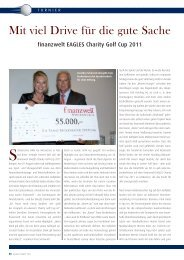finanzwelt EAGLES Charity Golf Cup 2011 - S&K