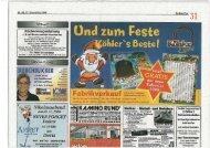 Pressebericht: Weihnachtsveranstaltungen im Breidert-Center