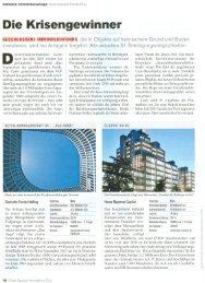 Cash. Special Immobilien 2011