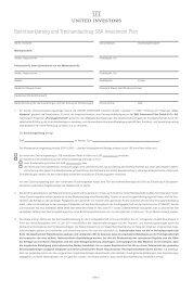 Beitrittserklärung und Treuhandauftrag S&K Investment Plan