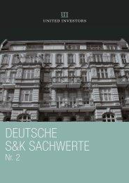 DEUTSCHE S&K SACHWERTE - United Investors