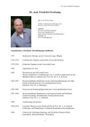 Dr. med. Friedrich Overkamp - DGHO