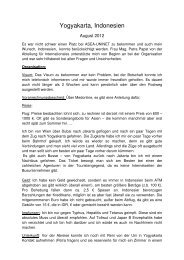 Yogyakarta 2012 - Medizinische Universität Graz