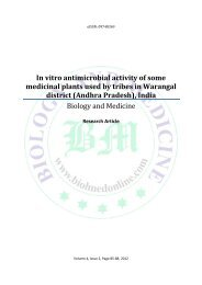 In vitro antimicrobial activity of some medicinal plants used by tribes ...