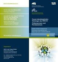 Forum Interdisziplinäre Onkologie des RHCCC Präkanzerosen und ...