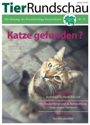 Tier Rundschau - Myriam F. Goetz