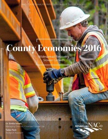 County Economies 2016