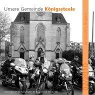 Unsere Gemeinde Königssteele - Friedenskirche