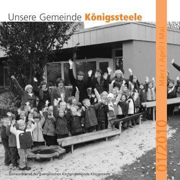 Unsere Gemeinde Königssteele
