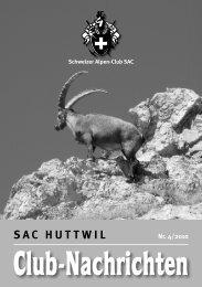 News, Tourenberichte, Anlässe und Bilder finden Sie ... - SAC Huttwil