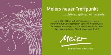 Der neue Treffpunkt - Ernst Meier AG