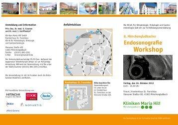 8. Mönchengladbacher Endosonografie Workshop