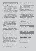 Sony NW-E205 - NW-E205 Istruzioni per l'uso Slovacco - Page 4