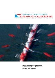 Regattaprogramm - Gasthaus Kreuz