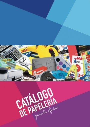 Catálogo Papelería