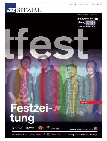 64 geschIchten schIchten geschichten schichten - Stadtfest Baden
