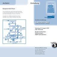 GASTRO-TAG - Dr. Falk Pharma GmbH