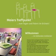 Meiers Treffpunkt - Best of Swiss Gastro