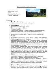 Erfahrungsbericht zum Auslandsstudium Sascha Meier - IM 4 SS 09 ...