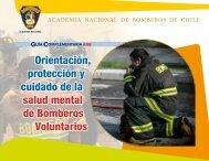 Orientación protección y cuidado de la salud mental de Bomberos Voluntarios