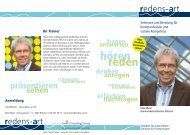 Seminare und Beratung für Kommunikation und soziale Kompetenz ...