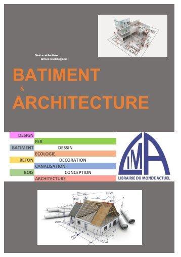 Nouveauté Architecture 2017 LIMA