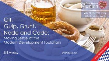 Gulp Grunt Node and Code
