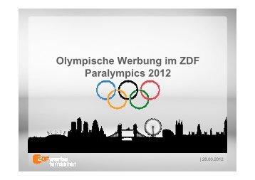 TV-Übertragungen - ZDF Werbefernsehen