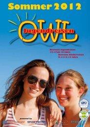 Sommer 2012 - Jugendreisen OWL