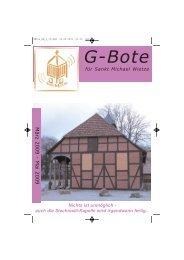 G-Bote - Kirchengemeinde Wietze