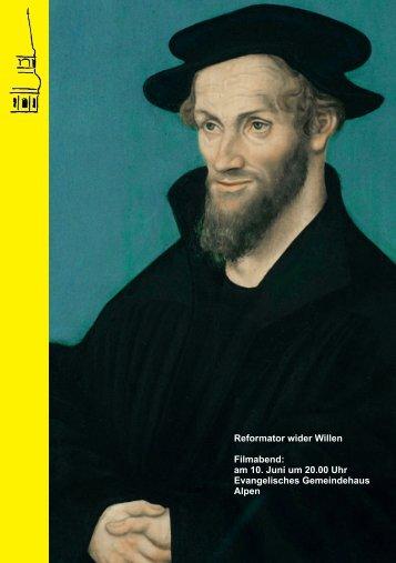 WIR Philipp Melanchthon - Evangelische Kirchengemeinde Alpen