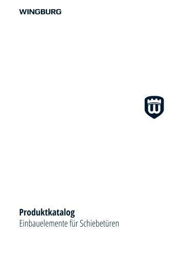 Wingburg  Produktkatalog  08/2016