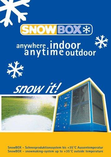 indoor - SnowBox