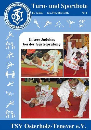 Unsere Judokas bei der Gürtelprüfung - TSV Osterholz-Tenever ...
